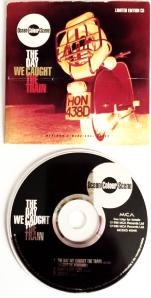 Ocean Colour Scene ‎- The Day We Caught The Train (CD Single Pt 2) (G+/G++)